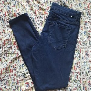 Mother 29 high waisted looker skinny